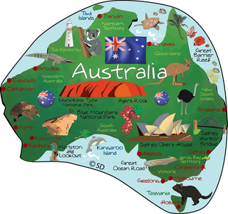 Australia - magnet