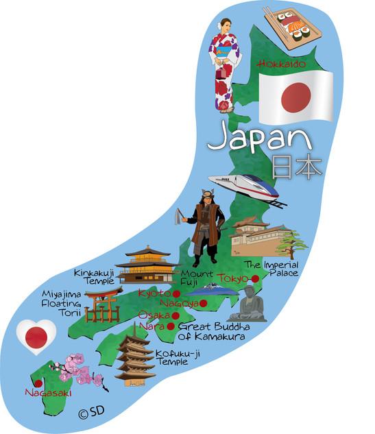 Japan - magnet