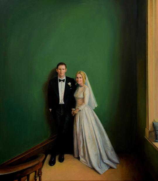 Leah - wedding portrait