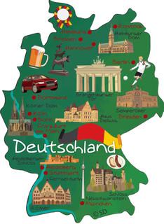 Germany - magnet
