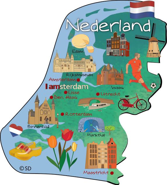 Netherlands - magnet