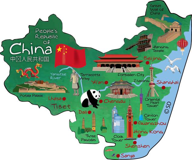 China - magnet
