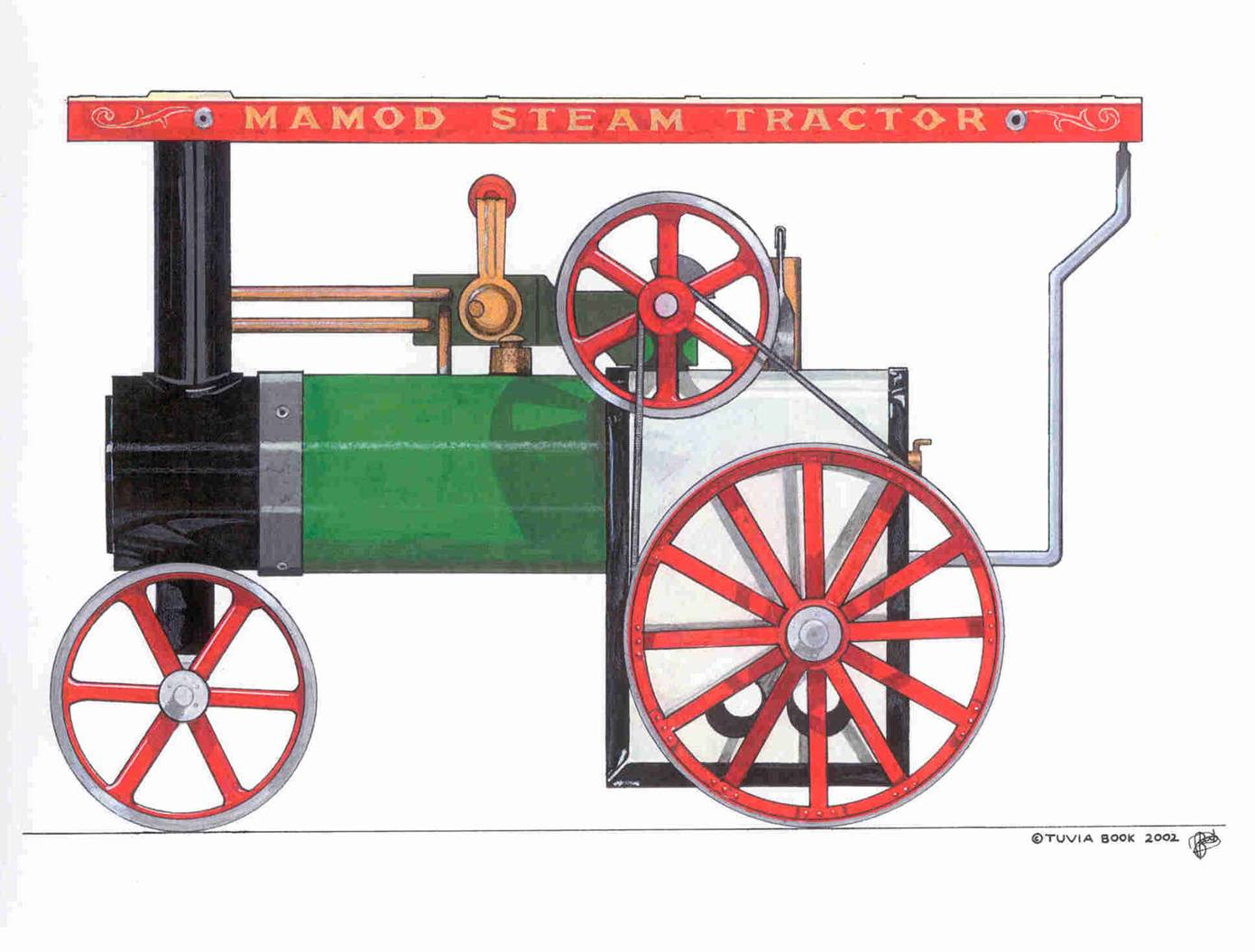 Mamod Steam Tractor Model