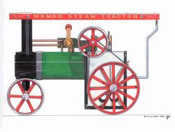 Mamod Steam Tractor Model