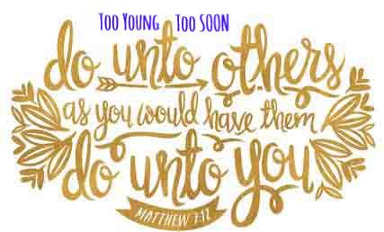 #TooYoungTooSoon #MatthewWest #BeYeKind #testimony #victory #KLove #iTunes #Life885 #pandora #spiritual #vevo #Gospel #ChristianMusic #Jesus #Savior #Christian #God #Bible #inspirational #salvation #JesusMatters