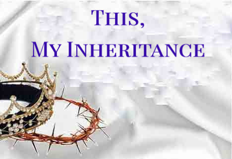 #ThisMyInheritance #AllSonsDaughters #KingdomHeirs #testimony #victory #KLove #iTunes #Life885 #pandora #spiritual #vevo #Gospel #ChristianMusic #Jesus #Savior #Christian #God #Bible #inspirational #salvation #JesusMatters