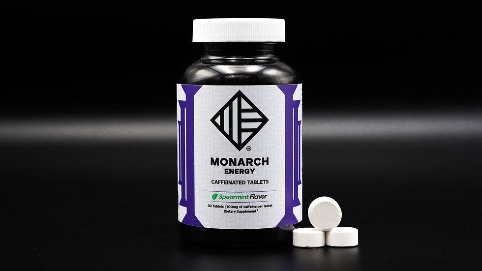 Monarch Mints   30 Caffeinated Mints   Spearmint Flavor