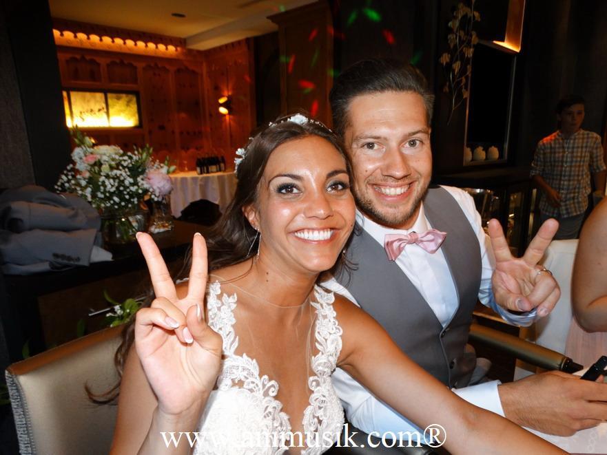 mariage à Chamonix avec Animusik Juin 2019