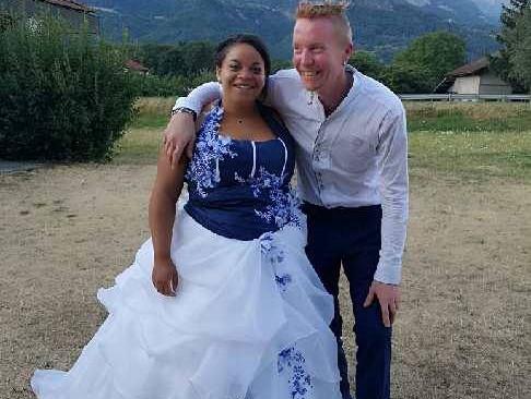 Mariage Alexandra & Christophe  Vendredi 13 Juillet 2018  Salle « Tour carrée » Domancy  Vive le