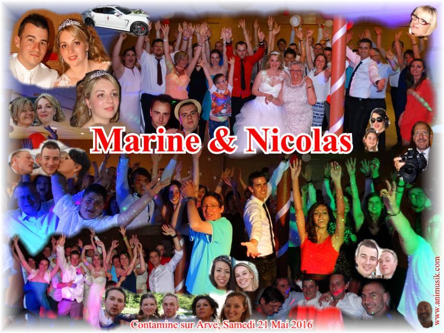 Mariage TARDY Nicolas & Marine (Contamine Sur Arve) (21-05-2016)