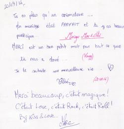 Mariage SIMONIN Marc & PELUS Chloé (Vougy) (20-09-2014)