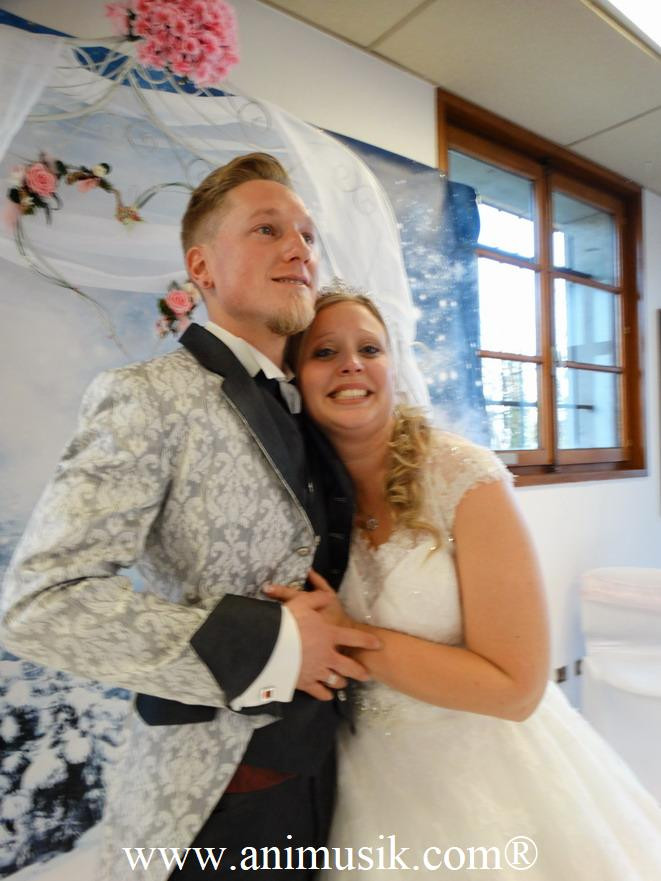 mariage à Fillinges avec Animusik Février 2020