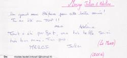 Mariage CHORIER Julien & Adeline (La Muraz) (24-05-2014)