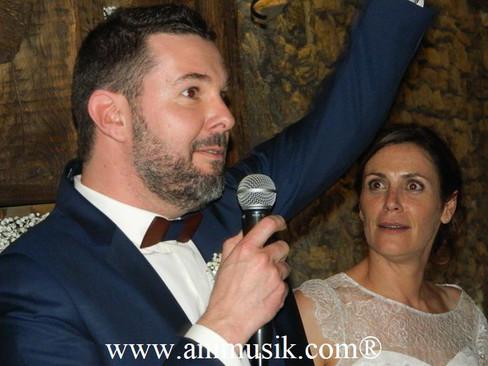 Mariage de Stéphanie & Philippe  « Ferme du Château », Draillant  Samedi 31 Mars 2018  DJ Kévin