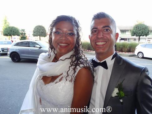 Mariage de Sandrine & Francesco Samedi 24 Septembre 2016 « Crowne Plaza » Genève Italie VS Congo