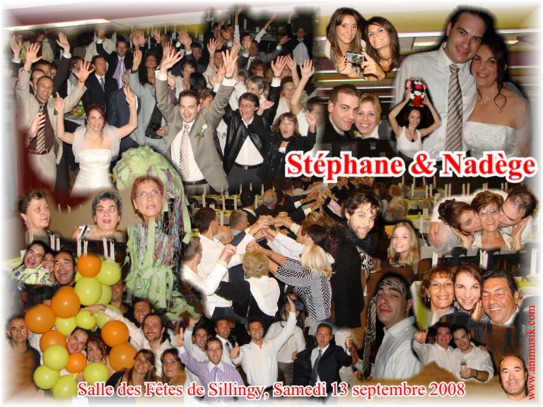 Mariage Stéphane & Nadège (Salle des Fêtes Sillingy) (13-09-2008)