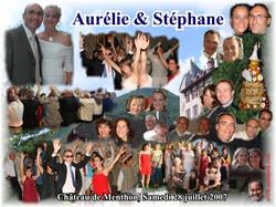 Mariage Stéphane & Aurélie (Château de Menthon) (28-07-2007)