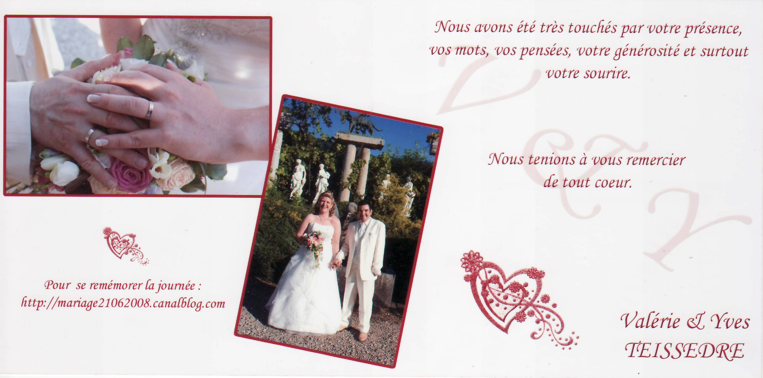 Mariage TEISSEDRE Yves & Valérie (Château d'Avully) (21-06-2018)