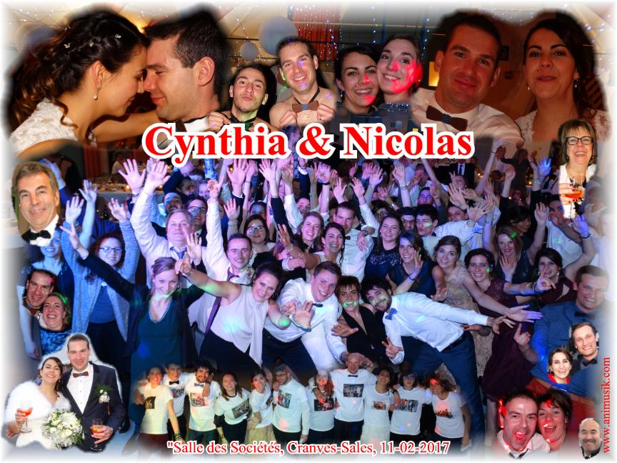Mariage JEROME Nicolas & GUYOT Cynthia (Cranves-Sales) (11-02-2017)
