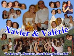 Mariage Xavier & Valérie (Hôtel Le Prieuré, Chamonix) (24-09-2005)