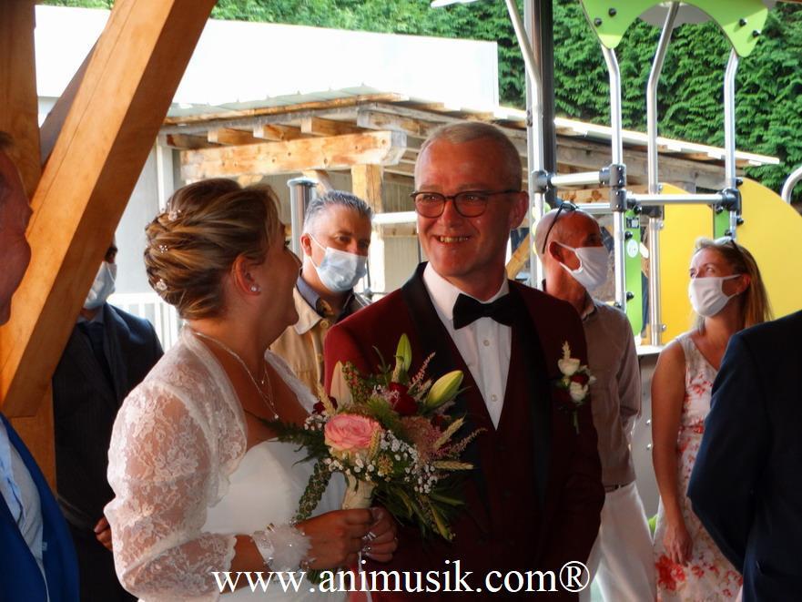 Mariage à Morillon avec Animusik Septembre 2020