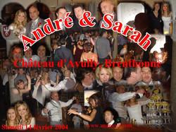 Mariage Sarah & André (Chateau d'Avully à Brenthonne) (14-02-2004)
