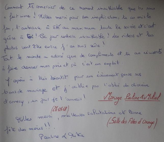 Mariage Pauline & Mikaël 26.05.2018