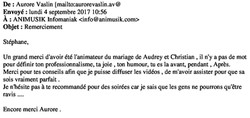 Mariage Audrey & Christian 02.09.17