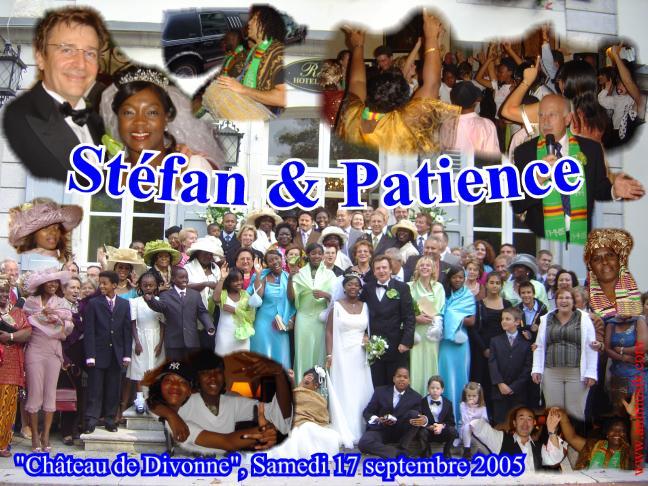 Mariage Stéfan & Patience (Château de Divonne) (17-09-2005)