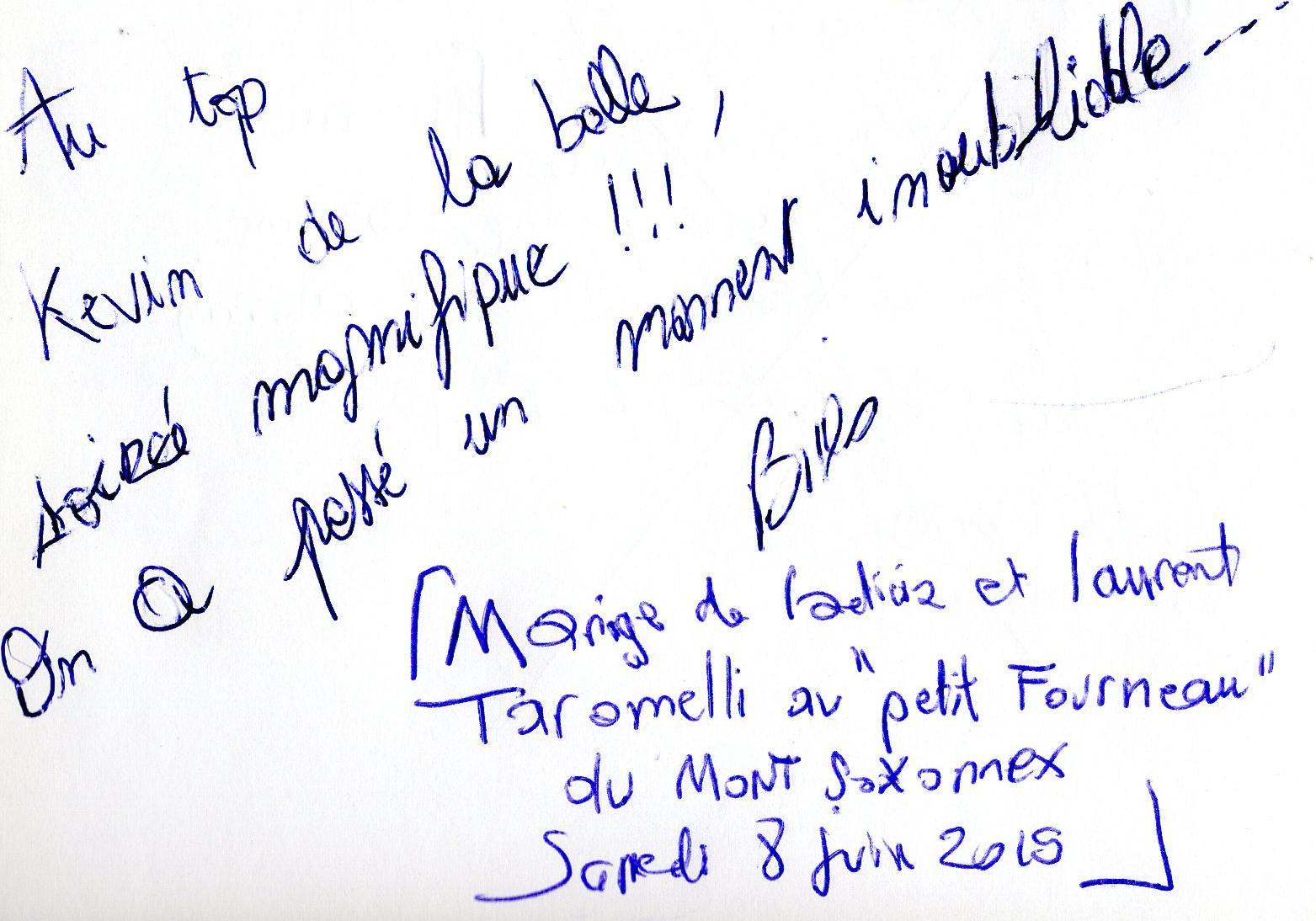 MARIAGE LAETITIA & LAURENT TARAMELLI au