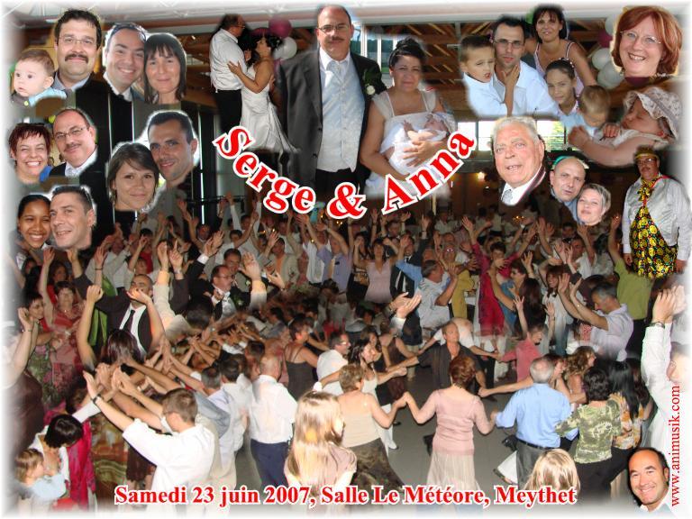 Mariage Serge & Anna (Salle Le Météore Meythet) (23-06-2007)