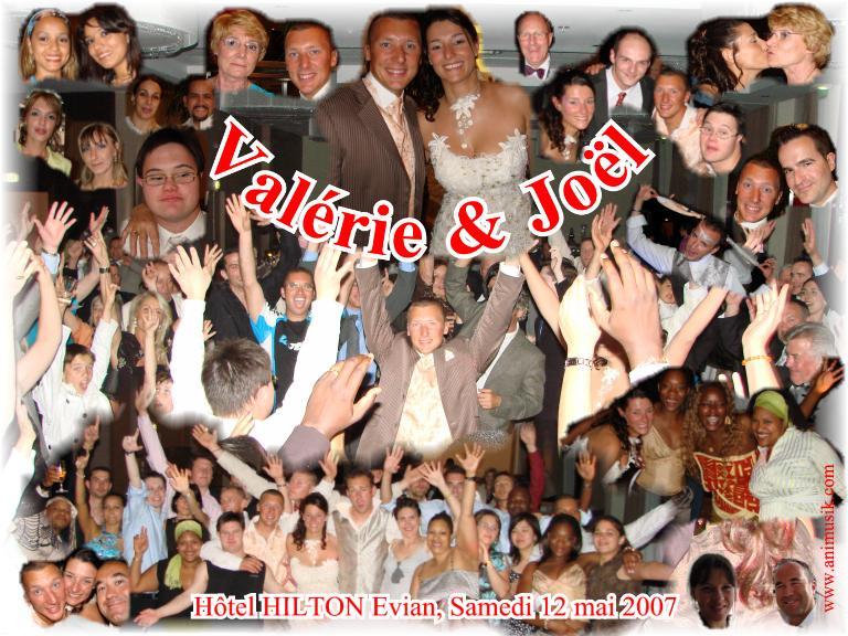 Mariage Valérie & Joël (Hôtel Hilton Evian) (12-05-2007)