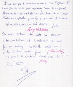 Mariage ROULLEAU Sébastien & Aude (Château de Chitry) (19-07-2014)
