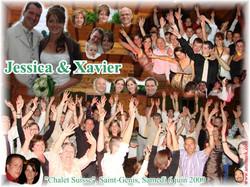 Mariage Xavier & Jessica (Chalet Suisse Saint-Genis) (06-06-2009)