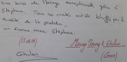 Mariage BANACHE Ghislain & Jenny (Cernex