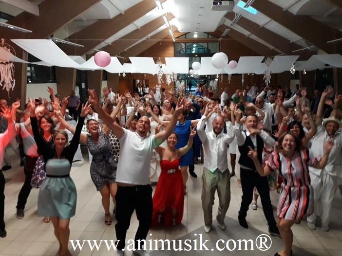 mariage à La Muraz avec animation-mariage