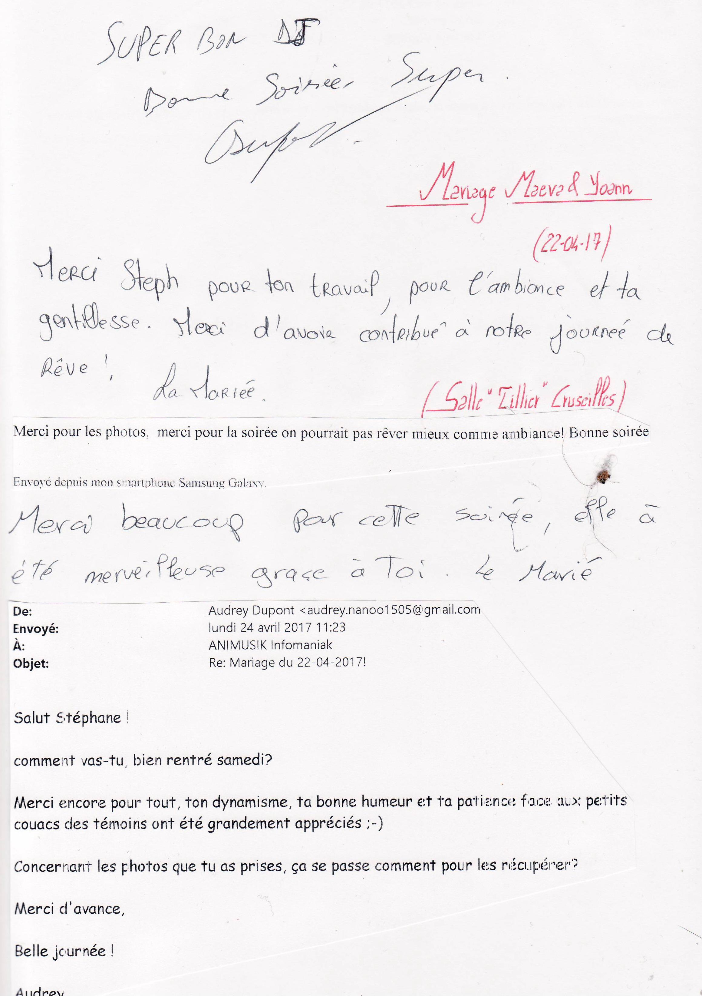 Mariage DUPONT Yoann & CHASSOT Maeva (Salle TILLIER Cruseilles) (22-04-2.._
