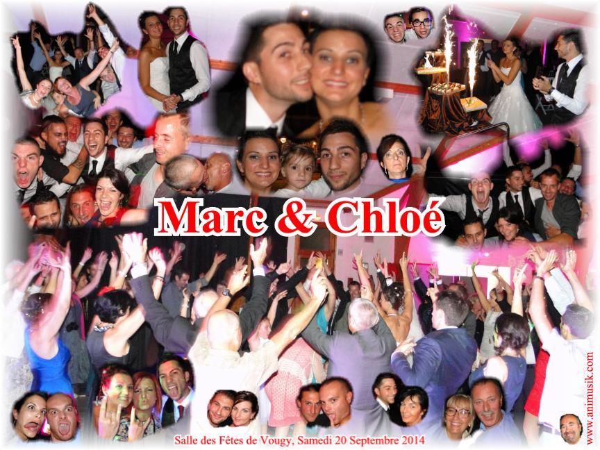 Mariage SIMONIN Marc & Chloé (Vougy) (20-09-2014)