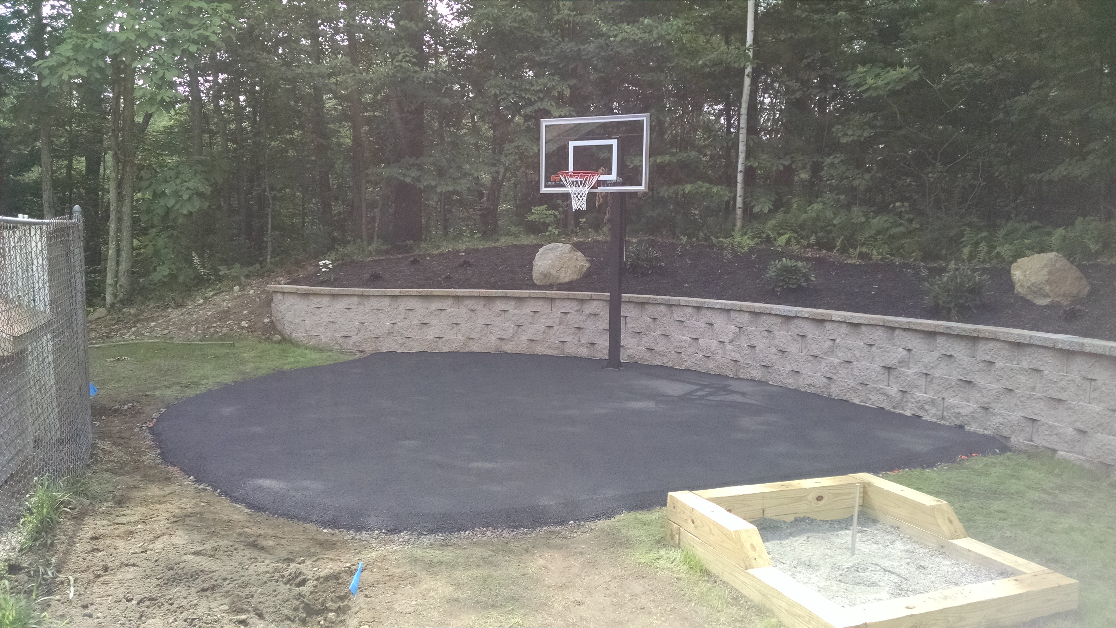 Basketball Court and Horseshoes