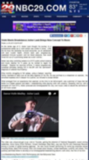 Image of Reviews of professional Violinist in  NYC