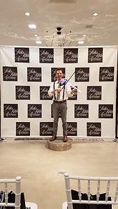 electric violinist - fashion show
