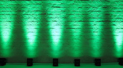 green chauvet uplighting