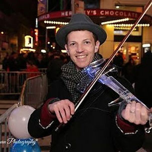Image of Electric Violinist | NYC