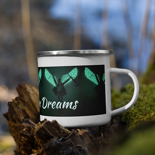 Neon Dreams Enamel Mug