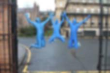 Image of blue man group theme