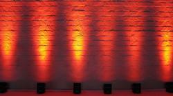red chauvet uplighting