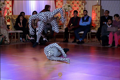 Image of Dancing bollywood performance