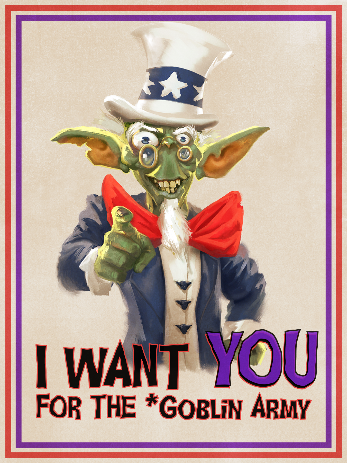 Uncle Sam Goblin