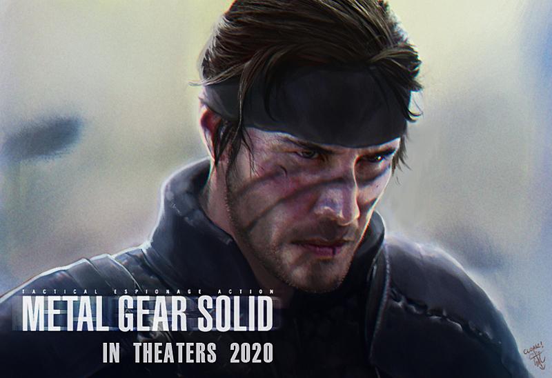 Solid Snake Keanu