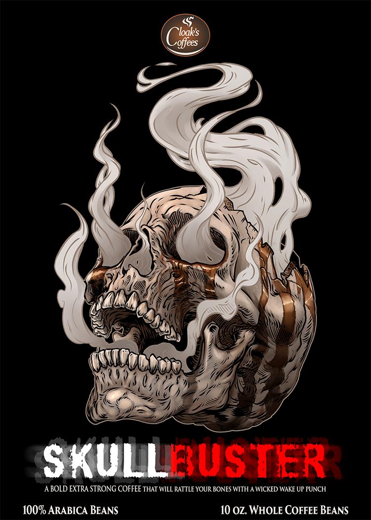 Cloak's Coffees - Skullbuster